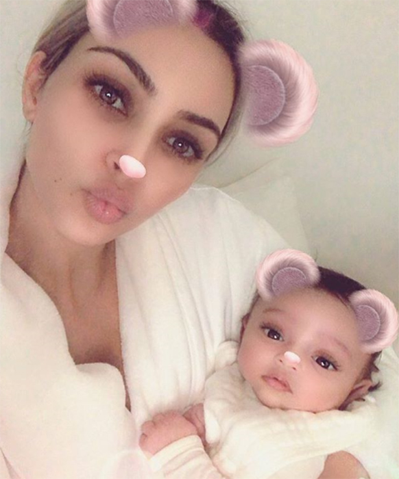 kim-kardashian-first-photo-baby-chicago-instagram