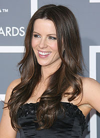 Kate Beckinsale,hair,Grammys,curles,waves,recreate