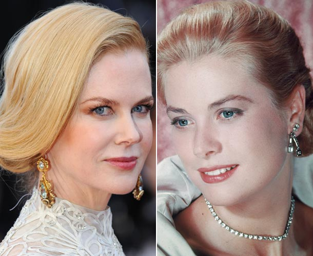 Nicole Kidman and Grace Kelly