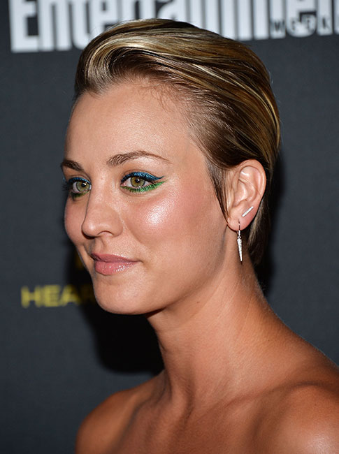 10 times kaley cuoco showed us how to style short hair