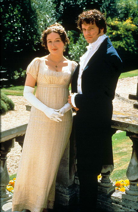 Pride and Prejudice aired on BBC in 1995