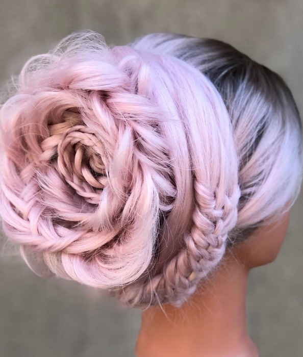 braided-rose-hair
