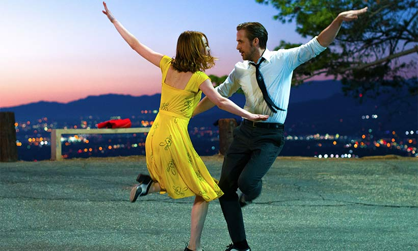 La-la-land-film still with Emma Stone and Ryan Gosling