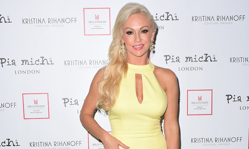 Kristina-Rihanoff-fashion-launch