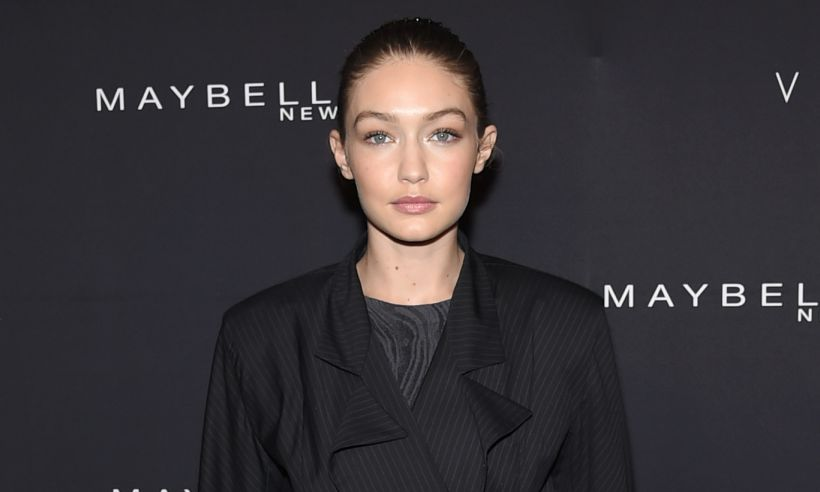 Gigi Hadid Maybelline party New York Fashion Week