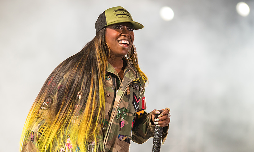 Missy Elliott before weight transformation