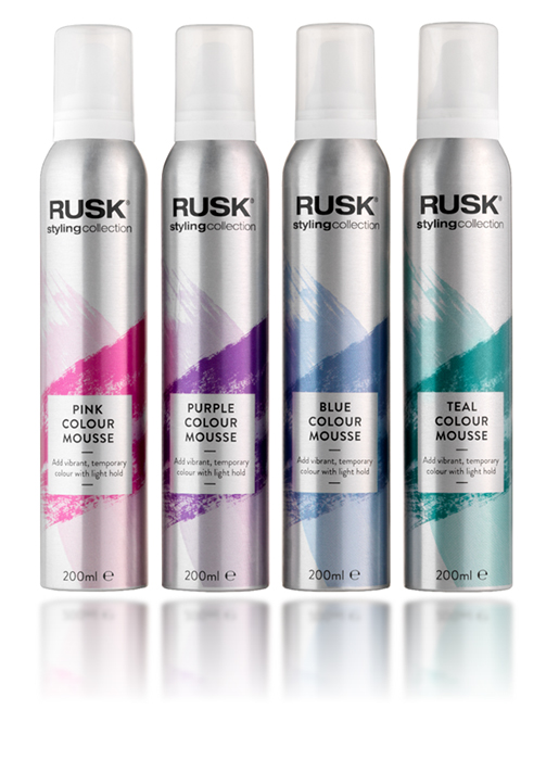 rusk-hair-pink-hair-mousse
