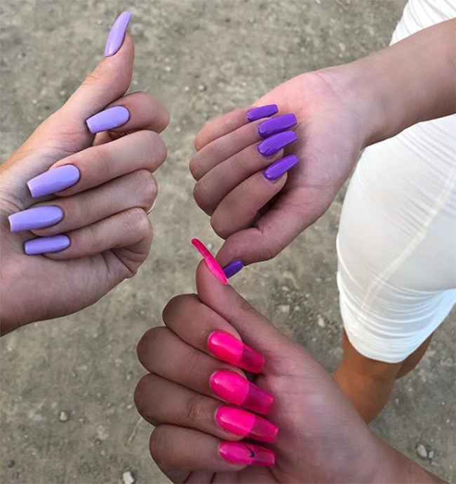 Jelly nails are this summer's hottest beauty trend
