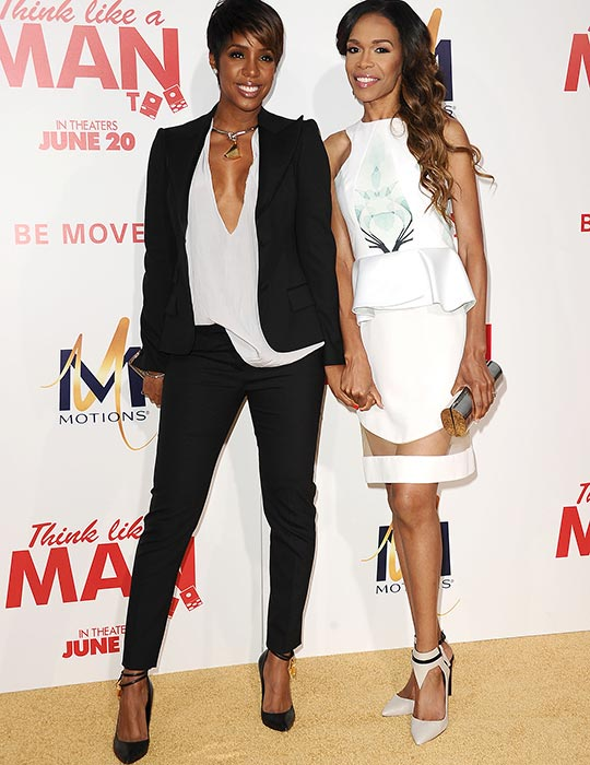 Kelly Rowland and Michelle Williams