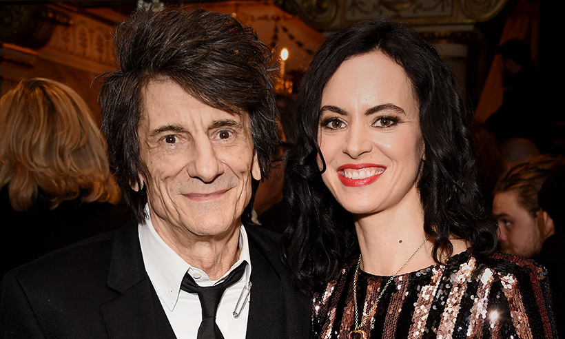 ronnie-wood-and-sally
