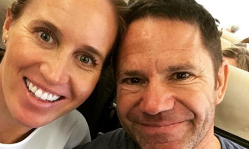 Helen Glover and Steve Backshall are expecting twins