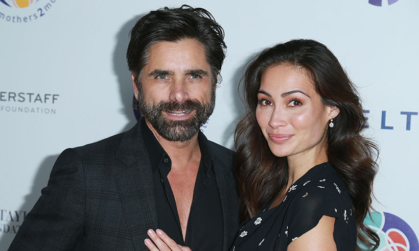 John Stamos and Caitlin welcome first baby boy