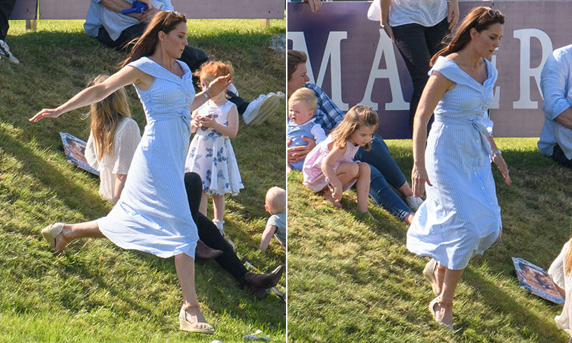 kate middleton's stunning figure at the polo