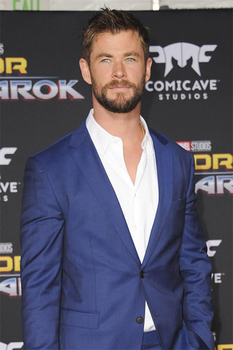 Chris-Hemsworth-thor-ragnarok-premiere