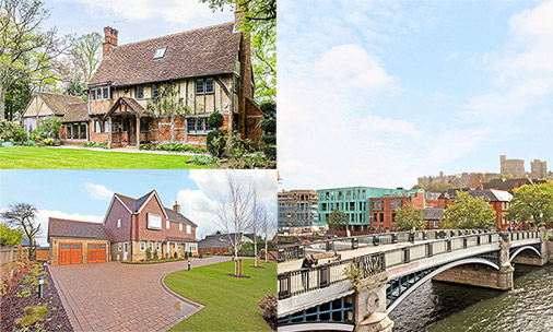 You could live in one of these beautiful homes close to the royal wedding venue