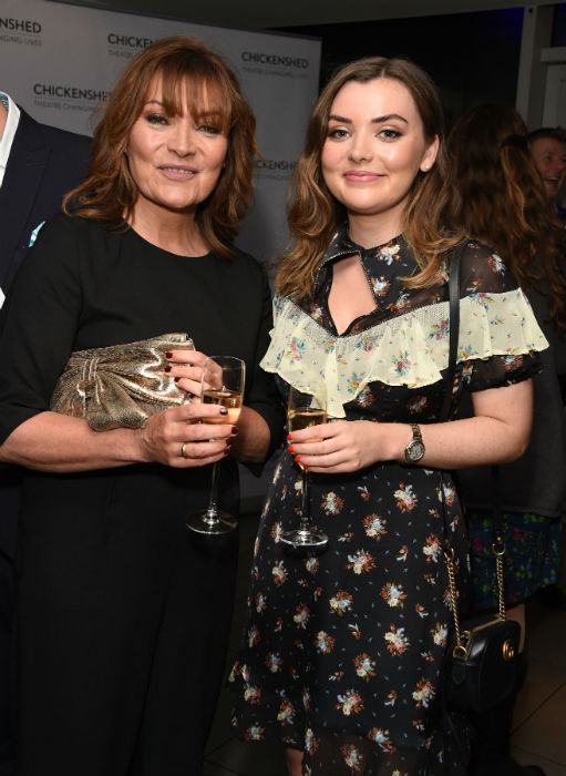 lorraine-kelly-daughter-rosie-red-carpet