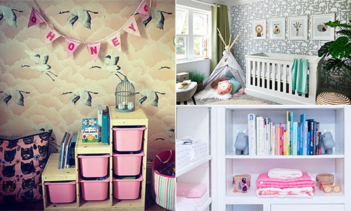 The most stylish celebrity nurseries and children's bedrooms from the Beckhams, Jamie Oliver and more