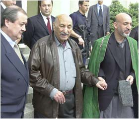 Former Afghan king Zahir Shah returns to Kabul after 29 years in exile