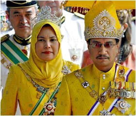 Malaysian King inaugurated