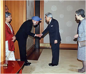 Indian PM visits Japan
