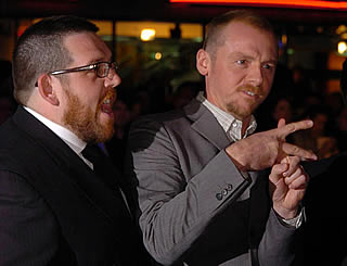 Hot Fuzz premieres in London