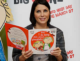 Comic Relief book launched by Sadie