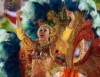 Brazil alive with excitement of carnival