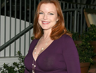 Twin girls for Marcia Cross