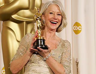 Oscar triumph for Helen Mirren