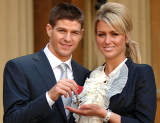 Steven Gerrard receives MBE
