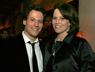 Ioan and Sigourney's TV night