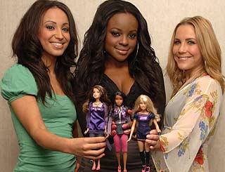 Sugababes dolls launched