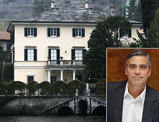 George Clooney in fight to preserve Italian village