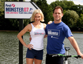 Kyran and Nell head up Loch Ness challenge