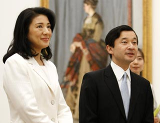 Japanese royals take in Monet exhibition