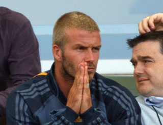 Becks doubtful for opening Galaxy game
