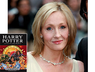 Harry Potter author upset at book spoilers publication