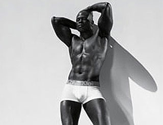 Djimon Hounsou sizzles in new undies ad