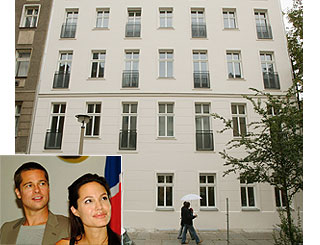 Brad and Angelina buy apartment in Berlin