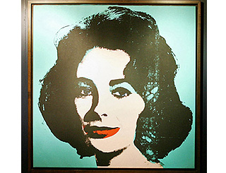Warhol's Liz Taylor portrait to go for almost £12m