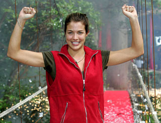 Gemma Atkinson's jungle experience comes to an end