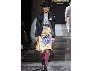 Vivienne Westwood presents new menswear line