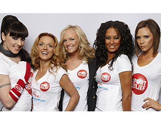 Spice Girls lend a hand to Sports Relief