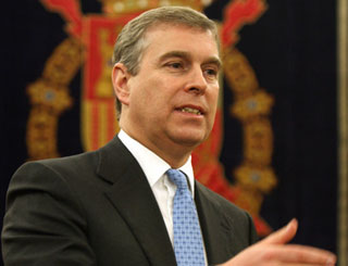 Prince Andrew speaks out over Iraq