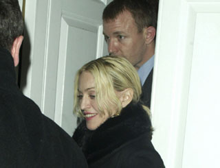 Romantic date for Madonna and Guy