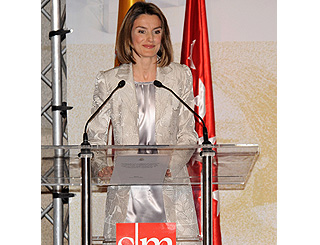 Princess Letizia of Spain attends literary awards