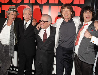 The Stones rock on silver screen