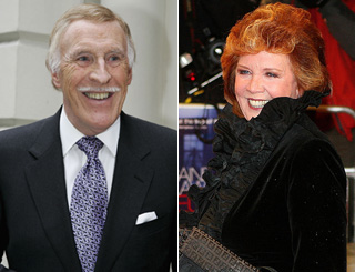 Bruce and Cilla top golden oldies list