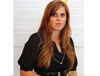 "Princess Beatrice ""a natural"" in intern role"