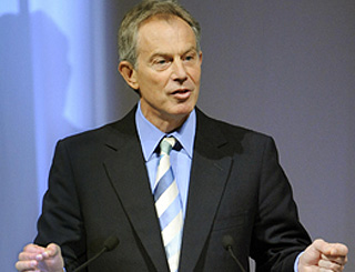 Tony Blair on world's 'most influential' list